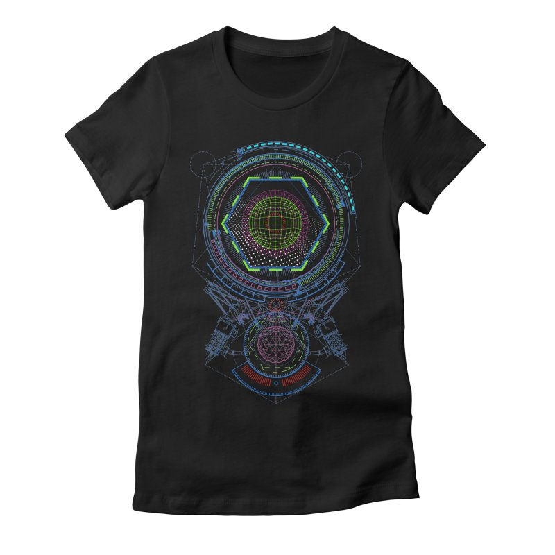 Android Cell Isolator 7750 Women's Fitted T-Shirt by 0_cult's Artist Shop