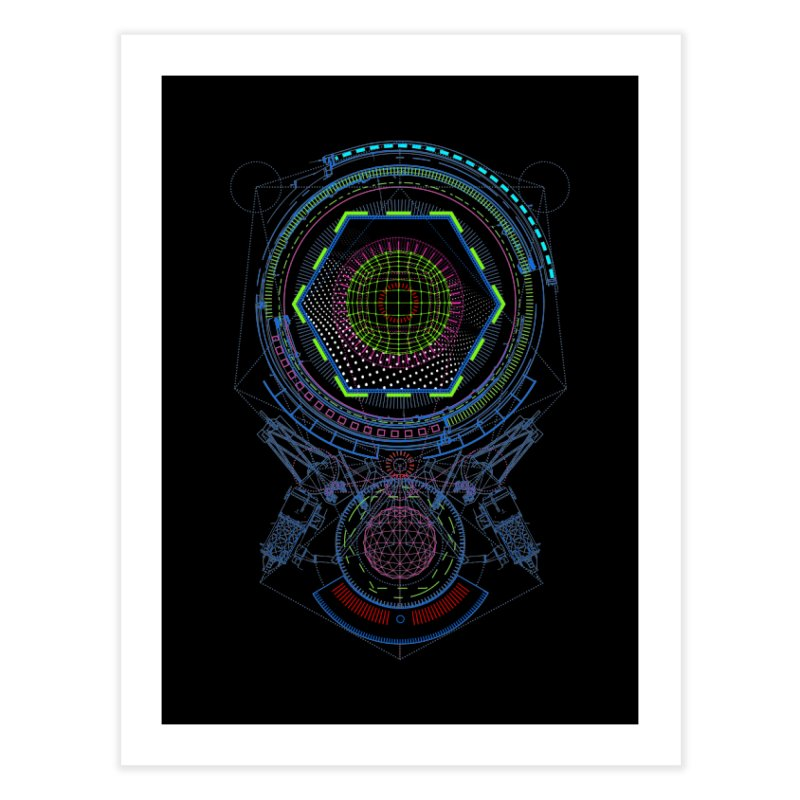 Android Cell Isolator 7750 Home Fine Art Print by 0_cult's Artist Shop