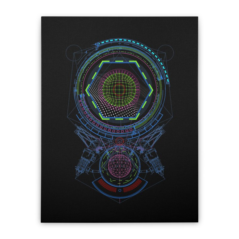 Android Cell Isolator 7750 Home Stretched Canvas by 0_cult's Artist Shop