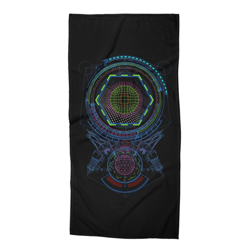 Android Cell Isolator 7750 Accessories Beach Towel by 0_cult's Artist Shop