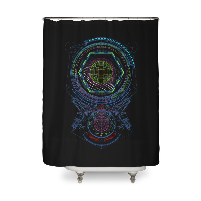 Android Cell Isolator 7750 Home Shower Curtain by 0_cult's Artist Shop