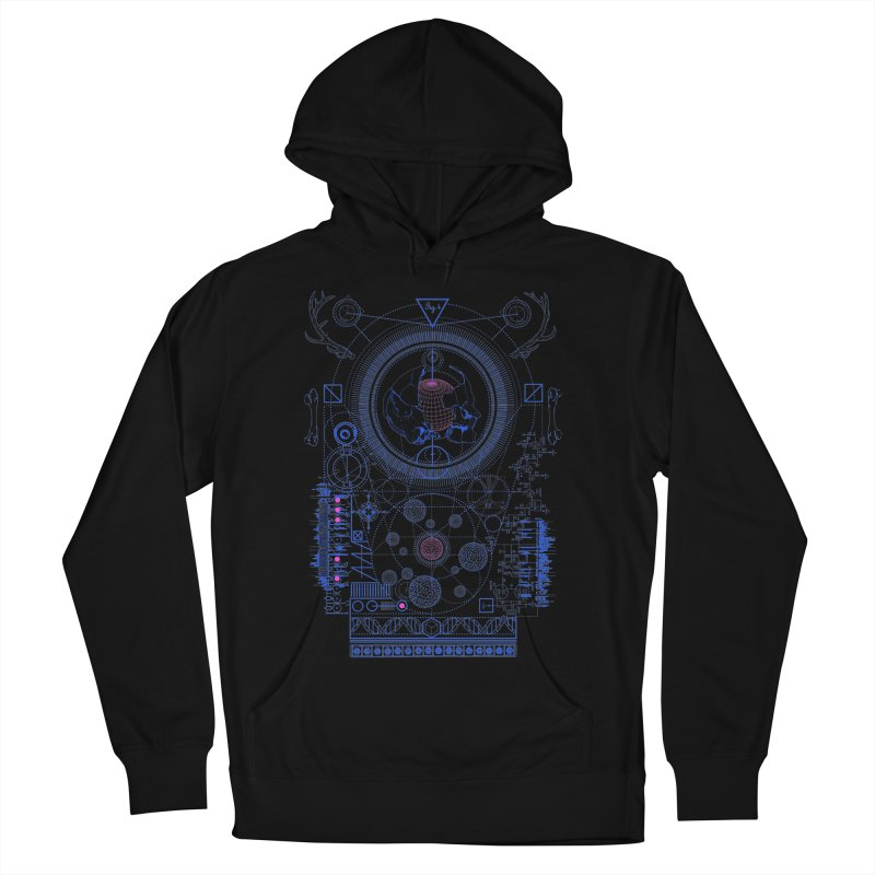 Fig.4 Men's Pullover Hoody by 0_cult's Artist Shop