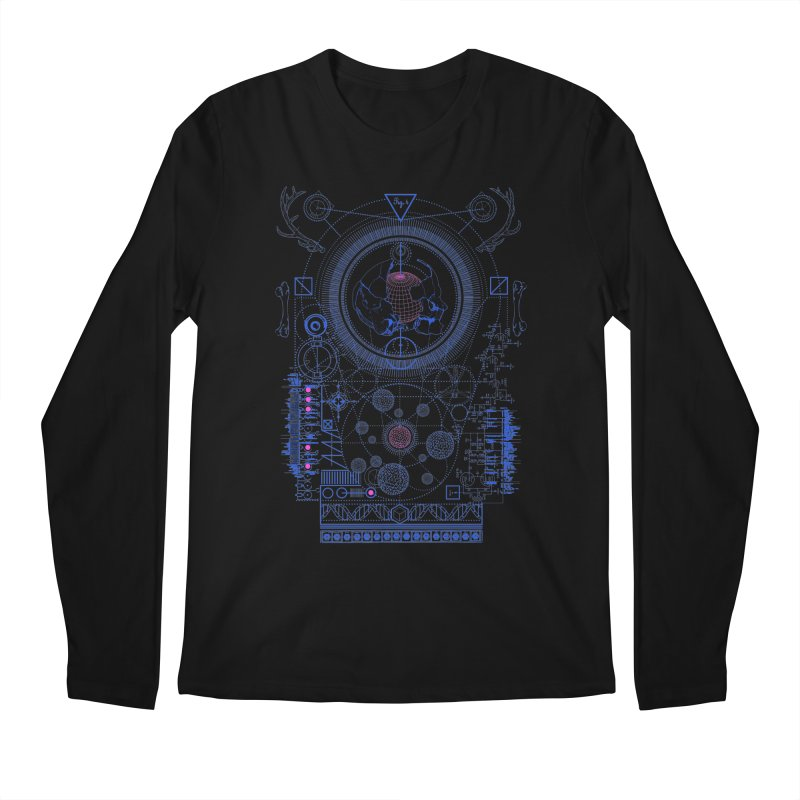 Fig.4 Men's Longsleeve T-Shirt by 0_cult's Artist Shop