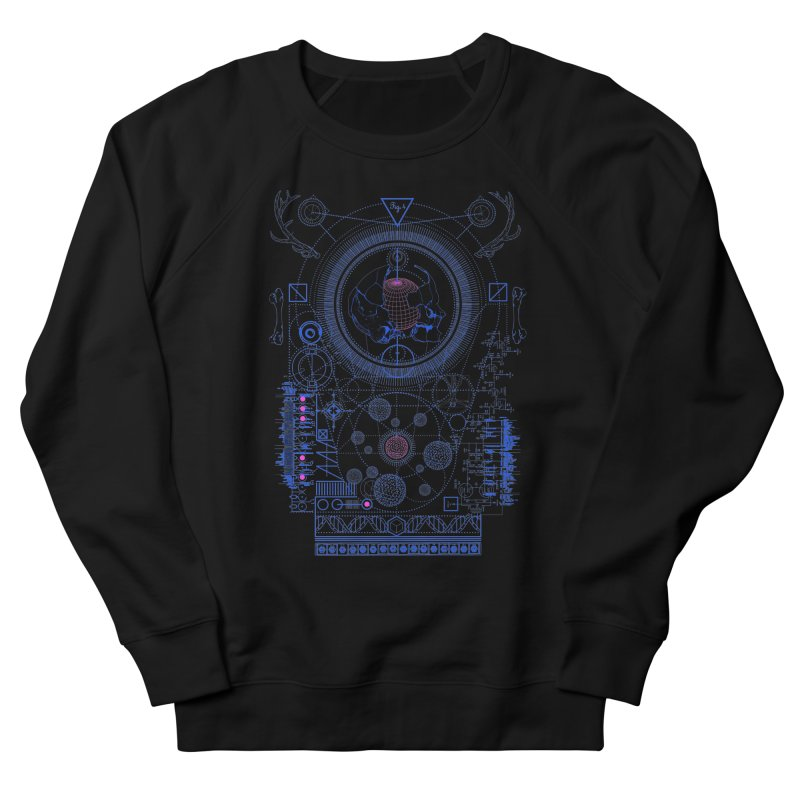 Fig.4 Men's Sweatshirt by 0_cult's Artist Shop