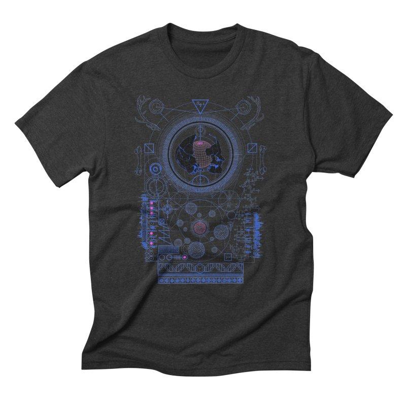 Fig.4 Men's Triblend T-Shirt by 0_cult's Artist Shop