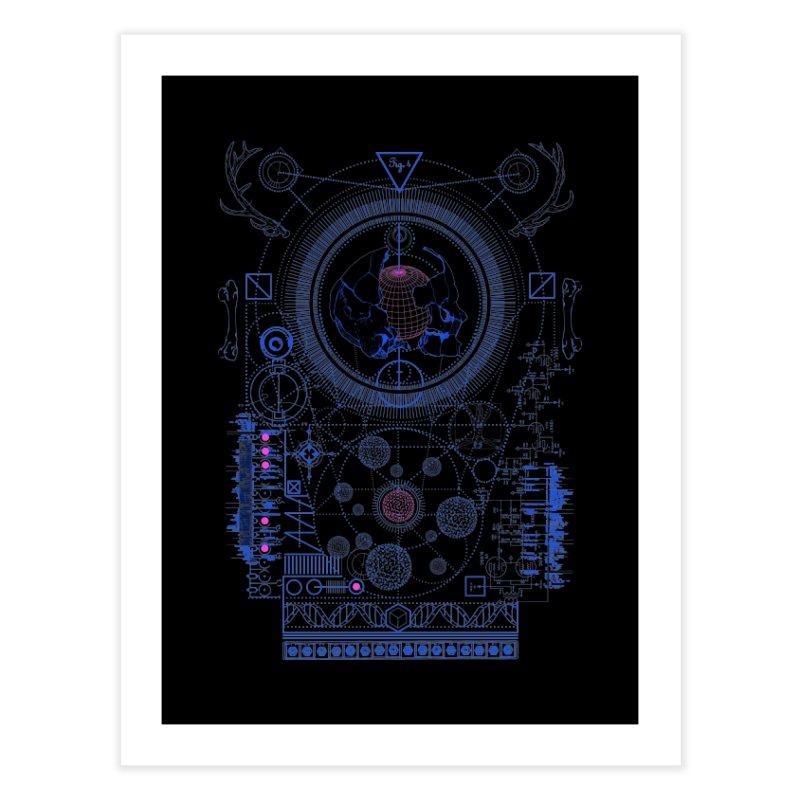 Fig.4 Home Fine Art Print by 0_cult's Artist Shop