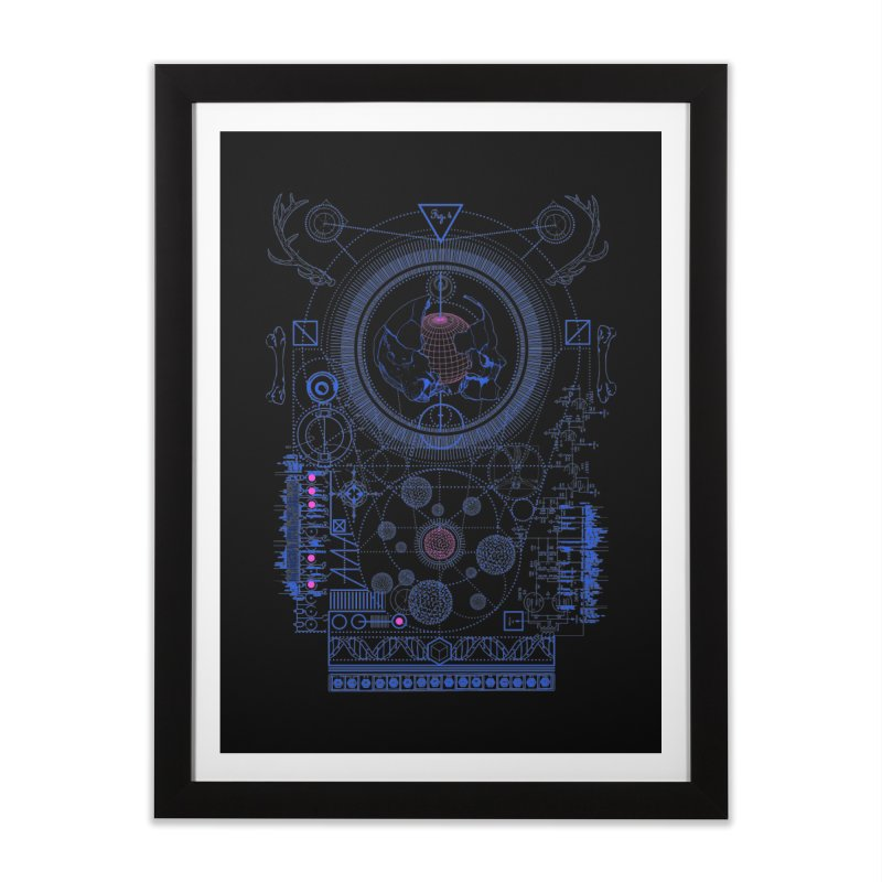 Fig.4 Home Framed Fine Art Print by 0_cult's Artist Shop