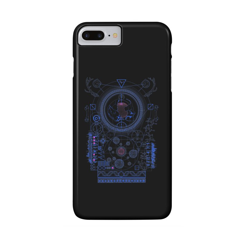 Fig.4 Accessories Phone Case by 0_cult's Artist Shop