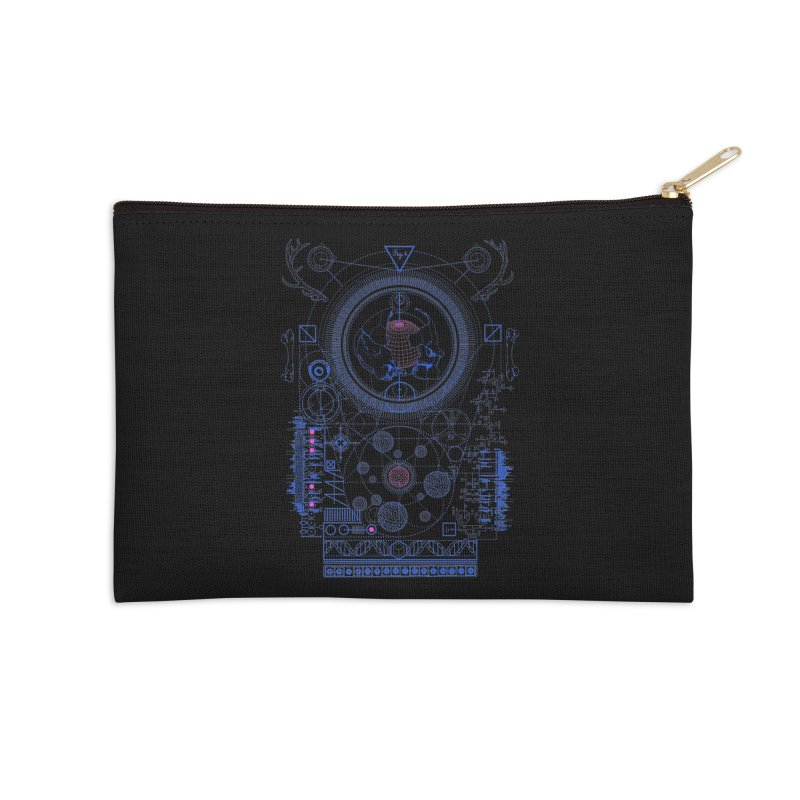 Fig.4 Accessories Zip Pouch by 0_cult's Artist Shop