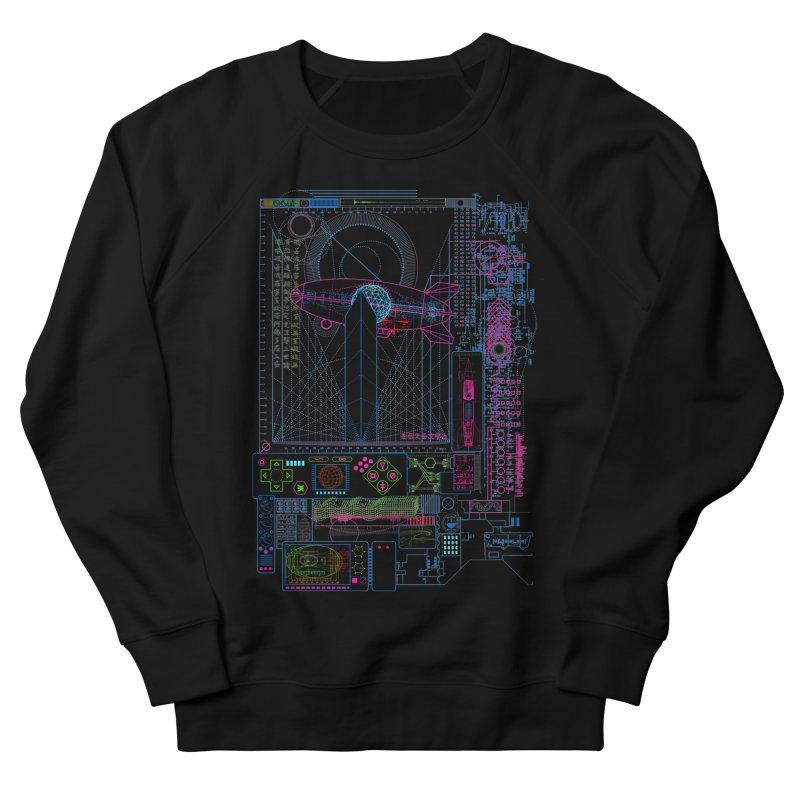 Main Control Console Men's Sweatshirt by 0_cult's Artist Shop
