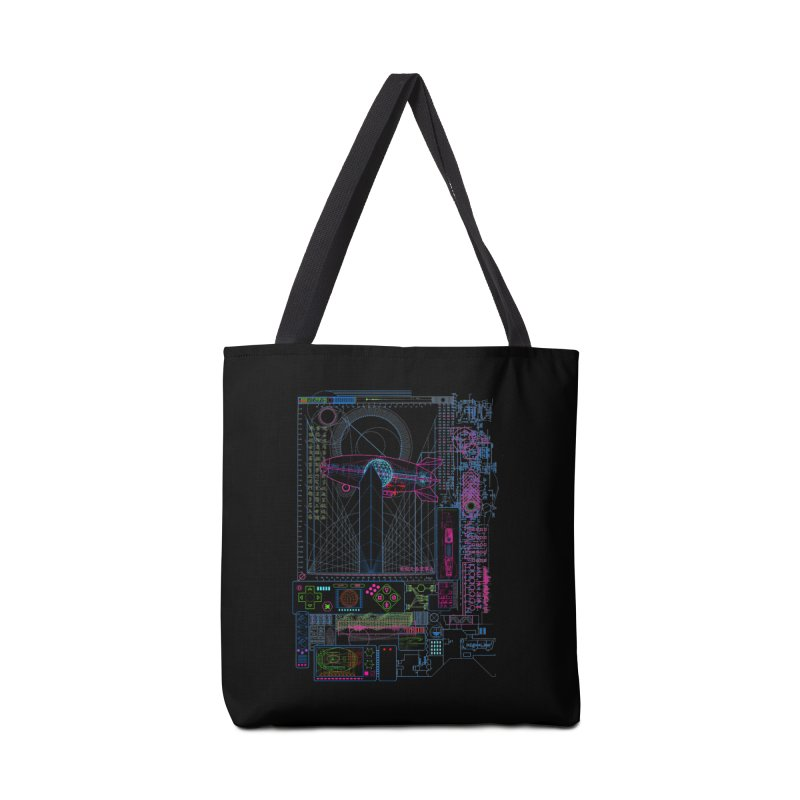 Main Control Console Accessories Bag by 0_cult's Artist Shop