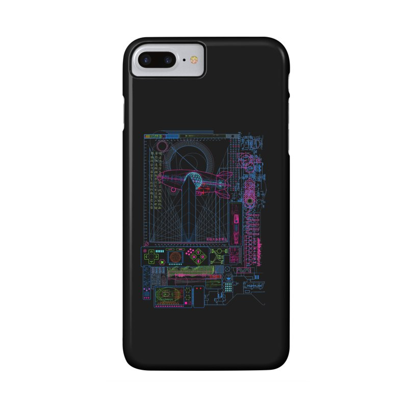 Main Control Console Accessories Phone Case by 0_cult's Artist Shop