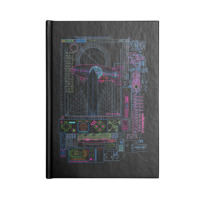 Main Control Console Accessories Notebook by 0_cult's Artist Shop