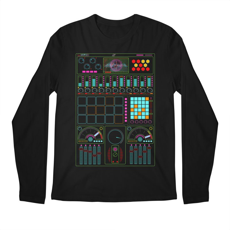 Midi Machine Men's Longsleeve T-Shirt by 0_cult's Artist Shop