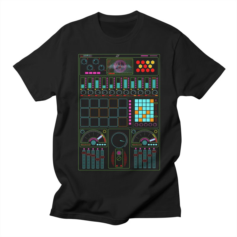 Midi Machine Men's T-shirt by 0_cult's Artist Shop