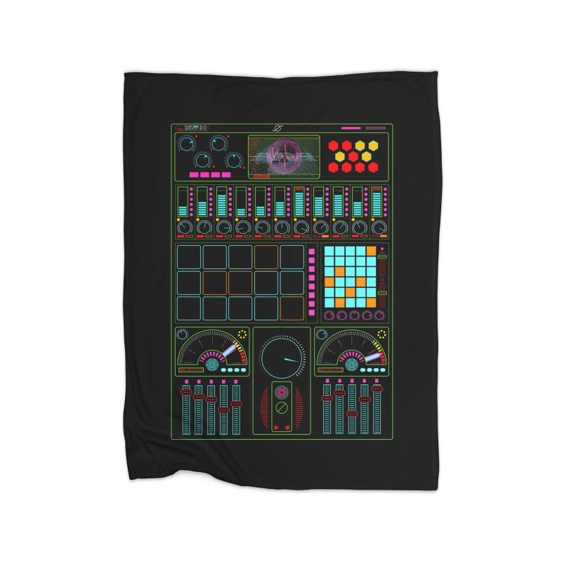 Midi Machine Home Blanket by 0_cult's Artist Shop