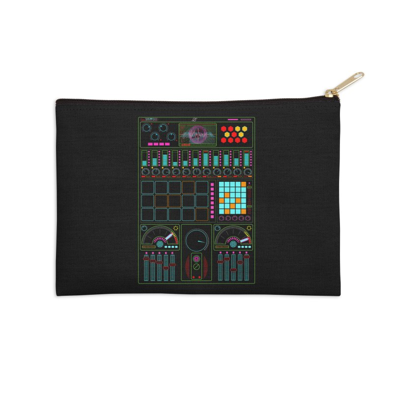 Midi Machine Accessories Zip Pouch by 0_cult's Artist Shop