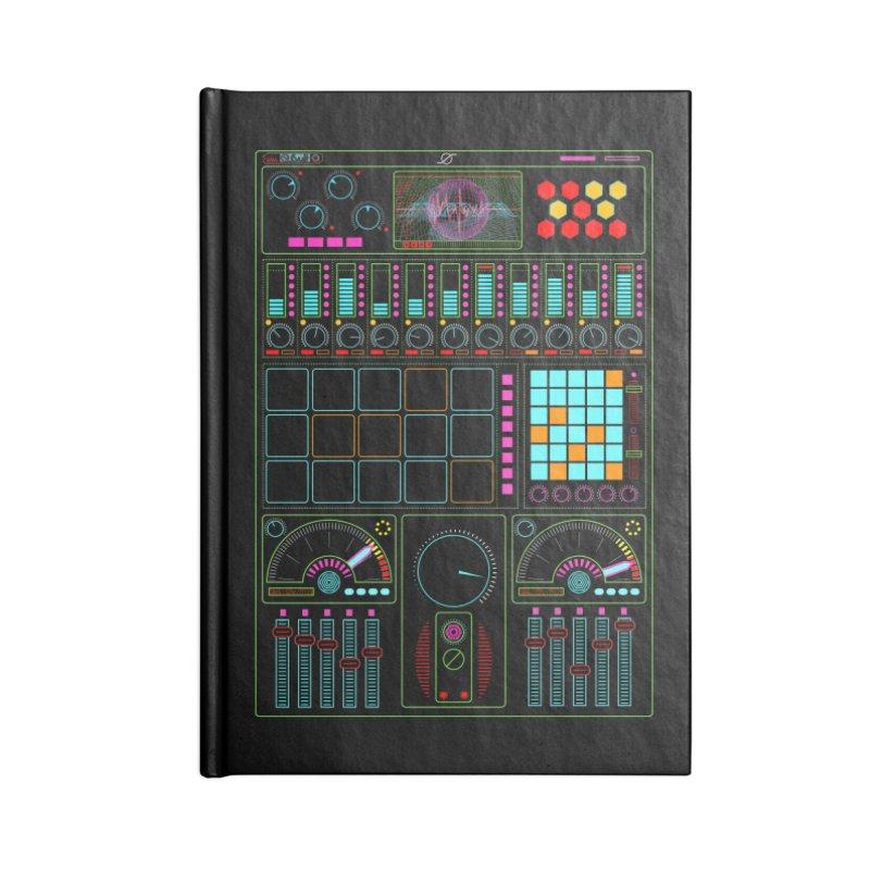 Midi Machine Accessories Notebook by 0_cult's Artist Shop