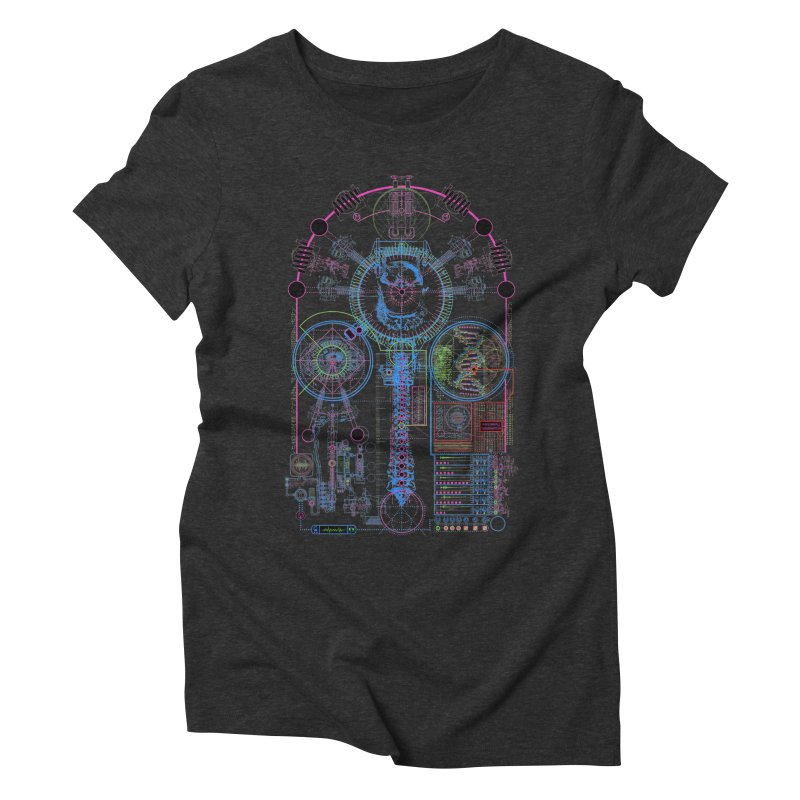Science of Torture Women's Triblend T-shirt by 0_cult's Artist Shop