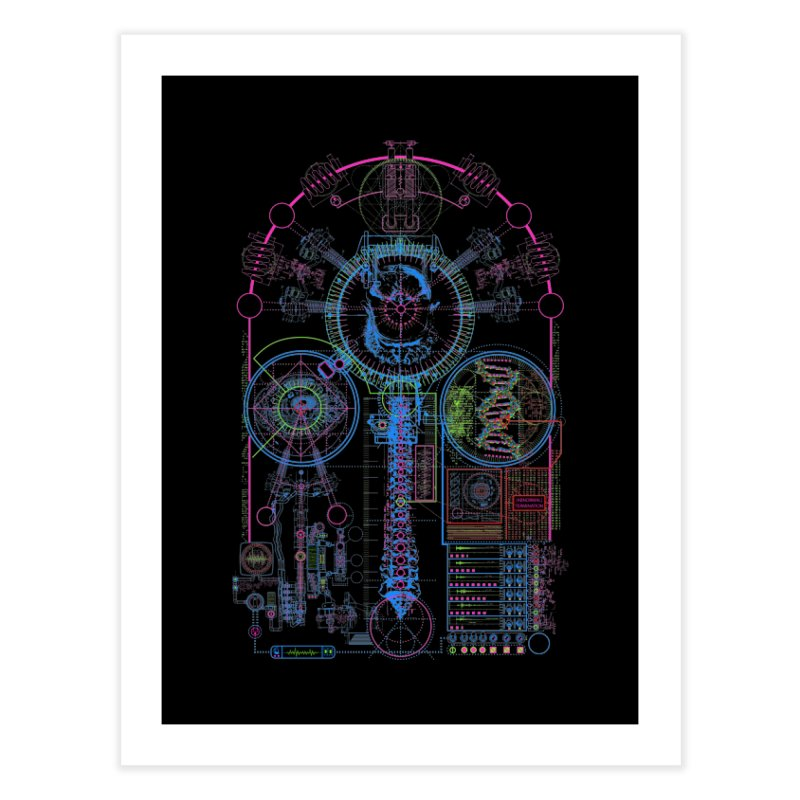 Science of Torture Home Fine Art Print by 0_cult's Artist Shop