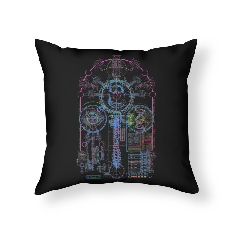 Science of Torture Home Throw Pillow by 0_cult's Artist Shop