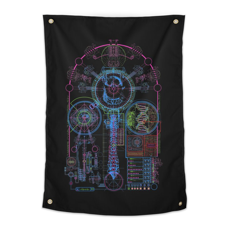 Science of Torture Home Tapestry by 0_cult's Artist Shop
