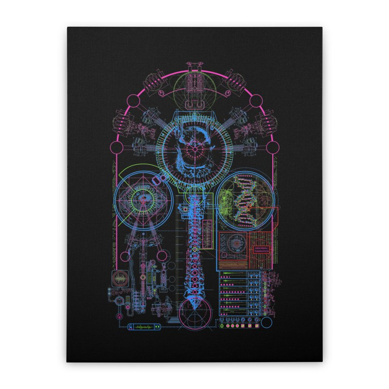 Science of Torture Home Stretched Canvas by 0_cult's Artist Shop