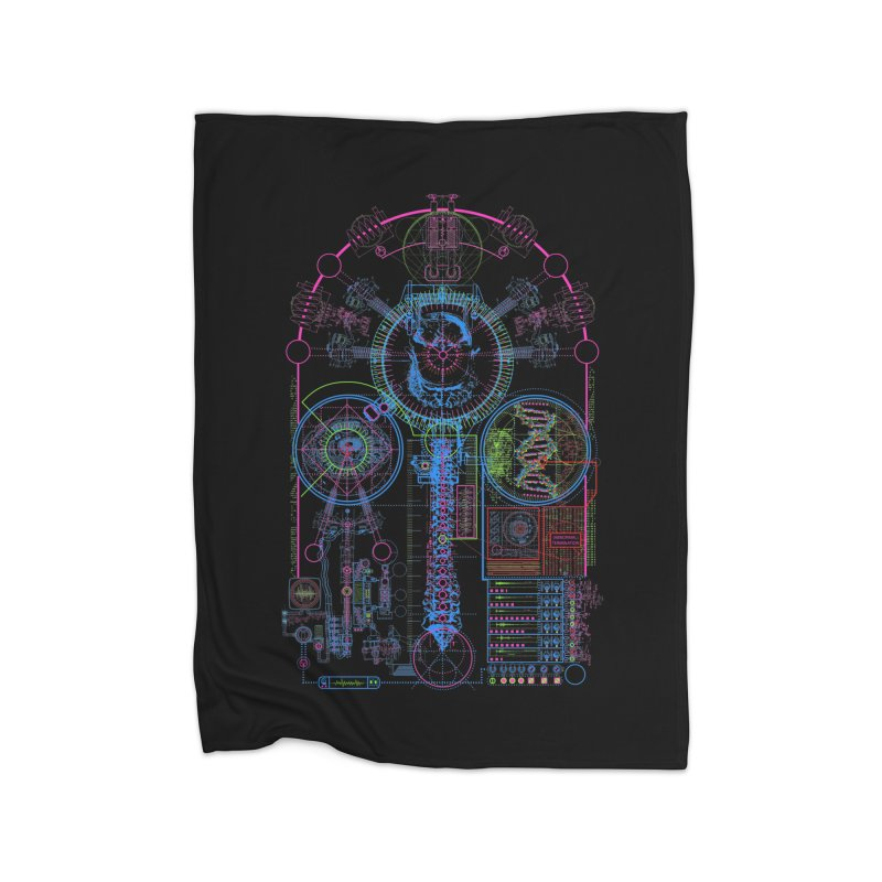 Science of Torture Home Blanket by 0_cult's Artist Shop