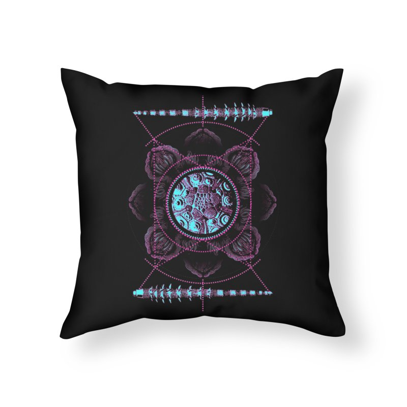 Source Home Throw Pillow by 0_cult's Artist Shop