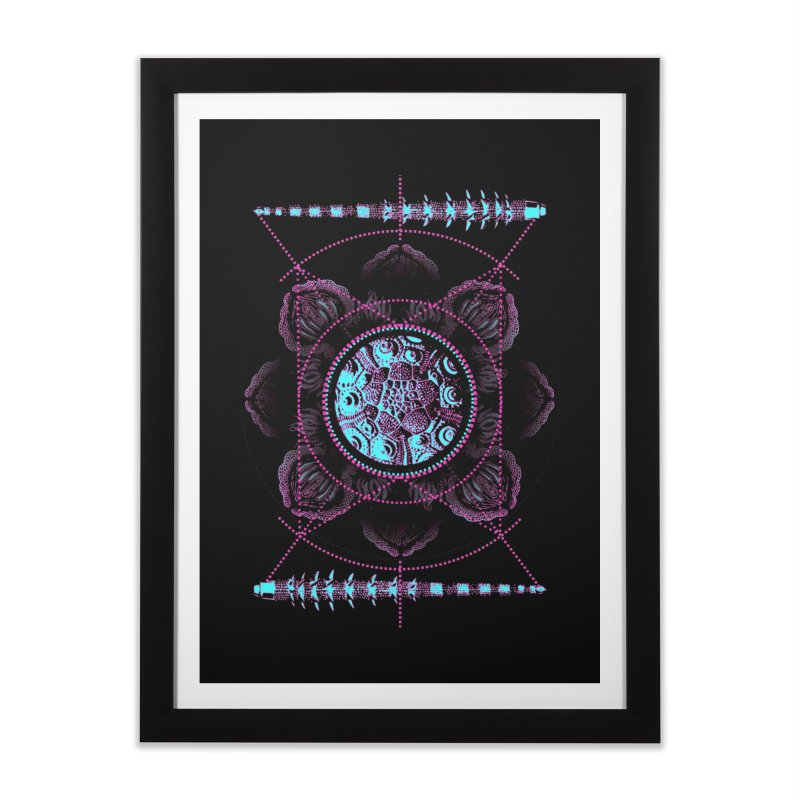 Source Home Framed Fine Art Print by 0_cult's Artist Shop