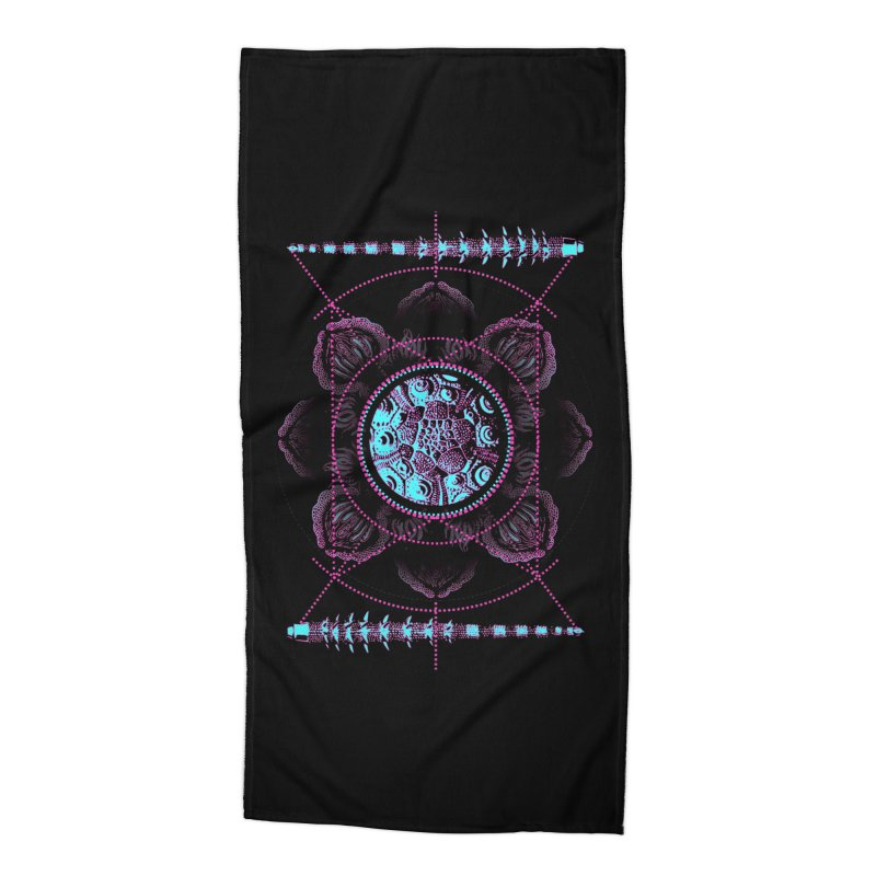 Source Accessories Beach Towel by 0_cult's Artist Shop