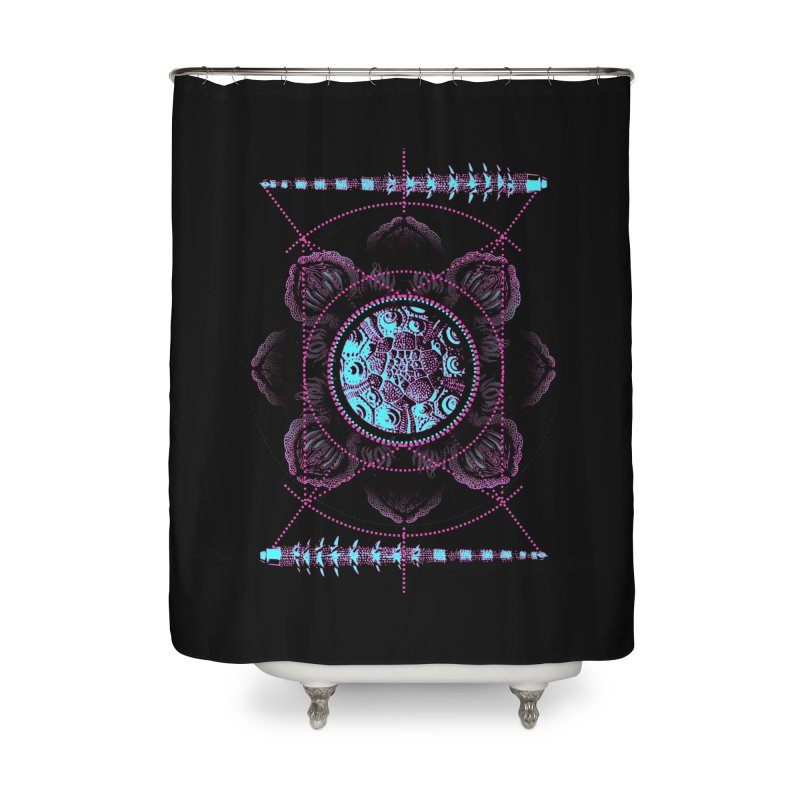 Source Home Shower Curtain by 0_cult's Artist Shop
