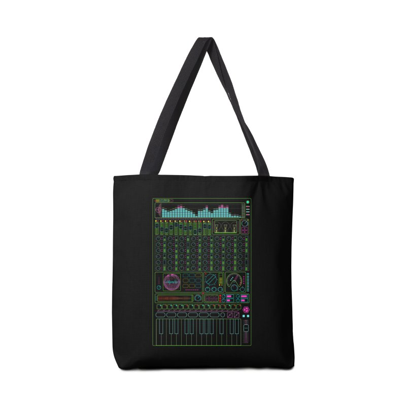 Synth machine Accessories Bag by 0_cult's Artist Shop