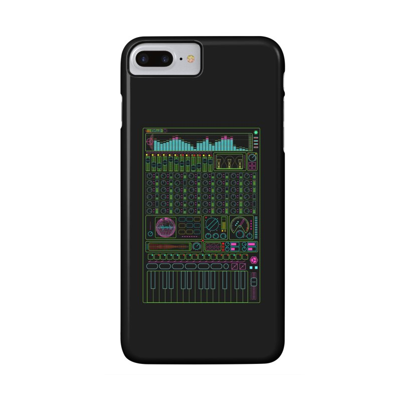 Synth machine Accessories Phone Case by 0_cult's Artist Shop