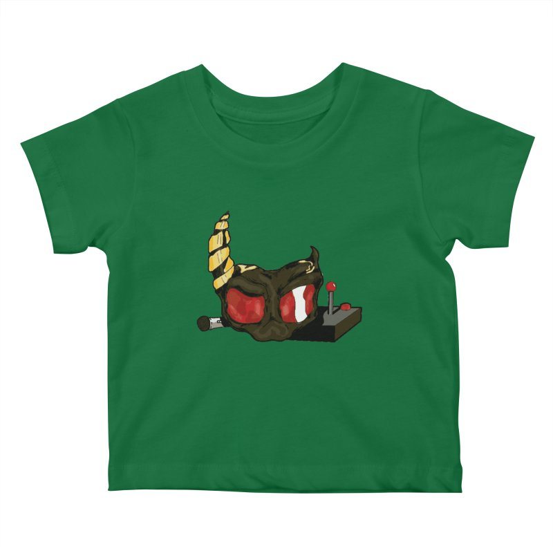 MASQUE Kids Baby T-Shirt by 0 Ideas Studios