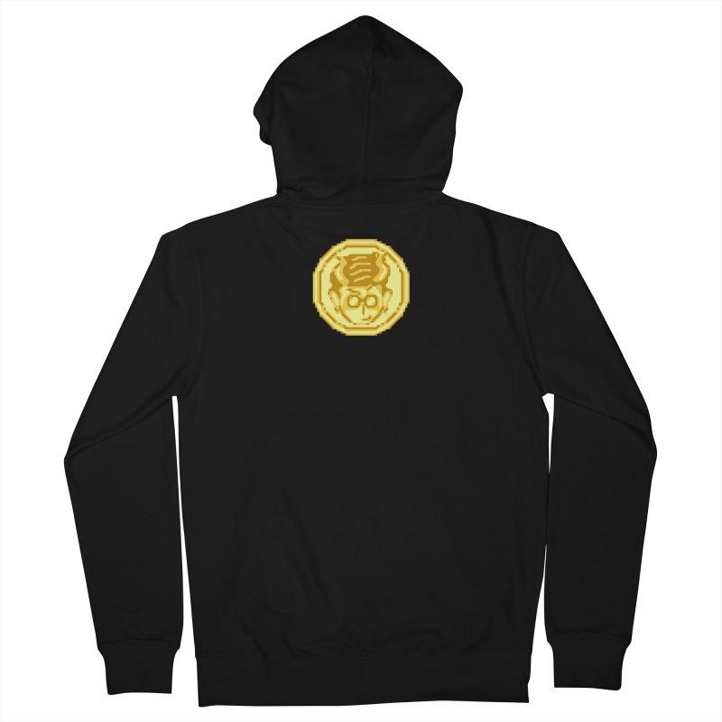 Mr A Coin 1 Men's Zip-Up Hoody by 0 Ideas Studios