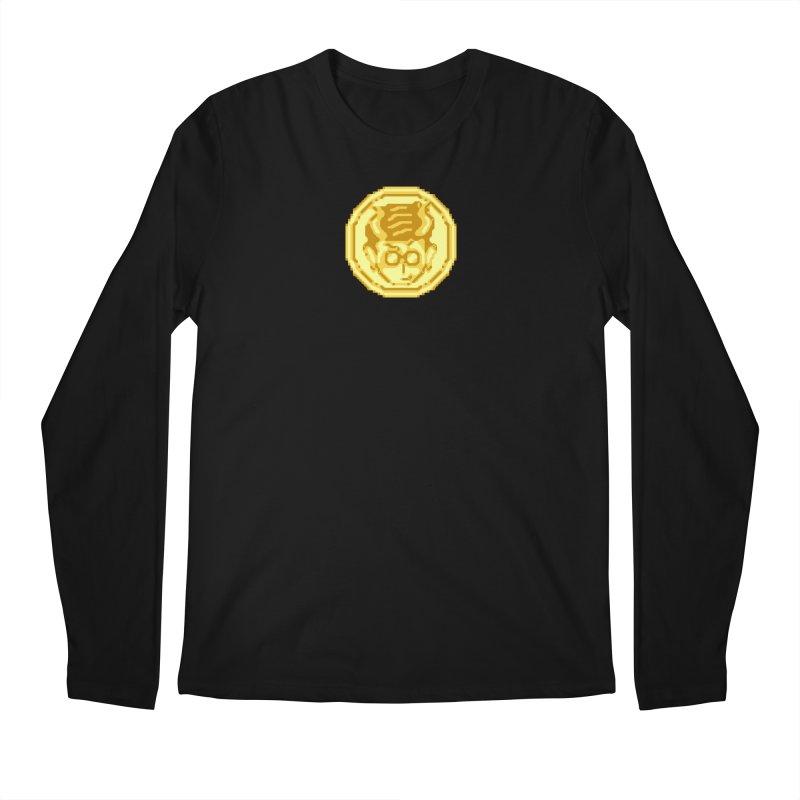 Mr A Coin 1 Men's Longsleeve T-Shirt by 0 Ideas Studios