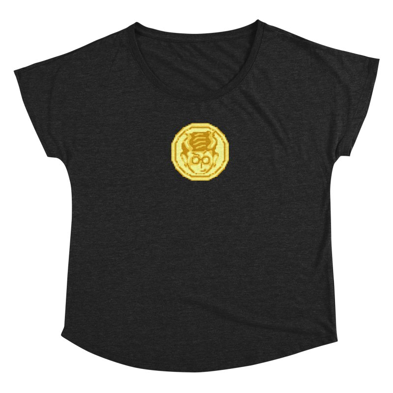 Mr A Coin 1 Women's Scoop Neck by 0 Ideas Studios