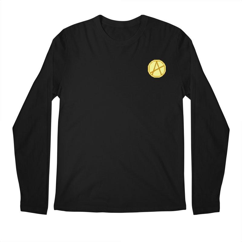 Mr A Coin 2 Men's Longsleeve T-Shirt by 0 Ideas Studios