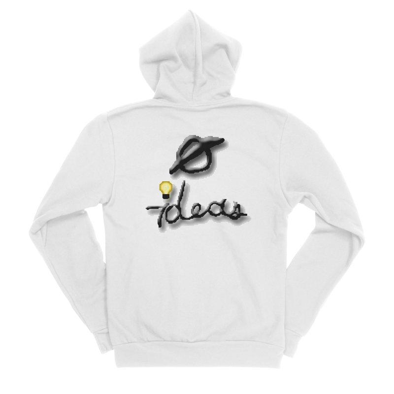 0 Ideas Logo Women's Zip-Up Hoody by 0 Ideas Studios