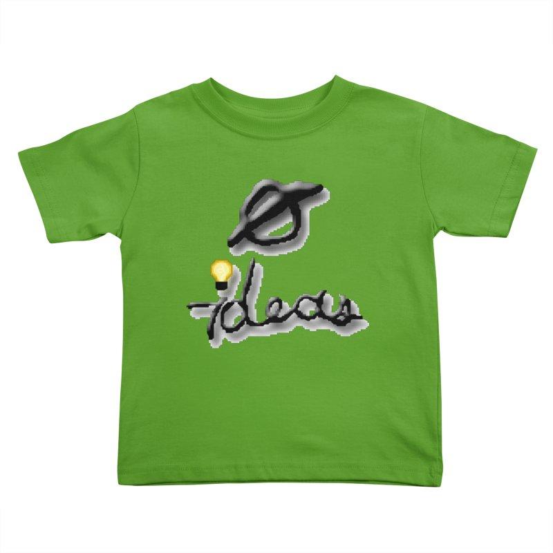 0 Ideas Logo Kids Toddler T-Shirt by 0 Ideas Studios