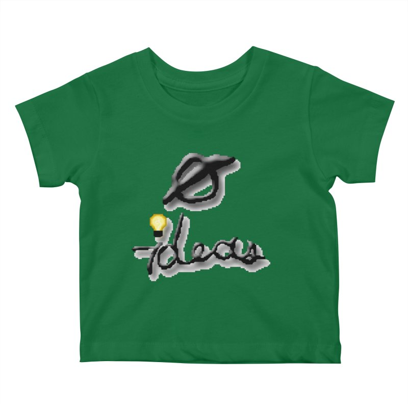 0 Ideas Logo Kids Baby T-Shirt by 0 Ideas Studios