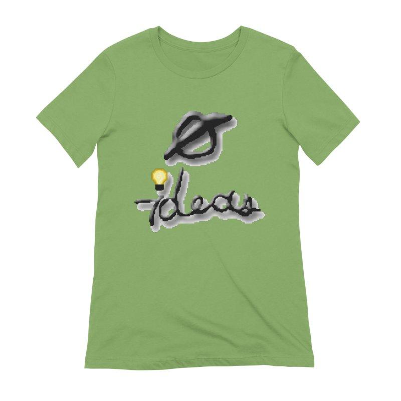 0 Ideas Logo Women's T-Shirt by 0 Ideas Studios