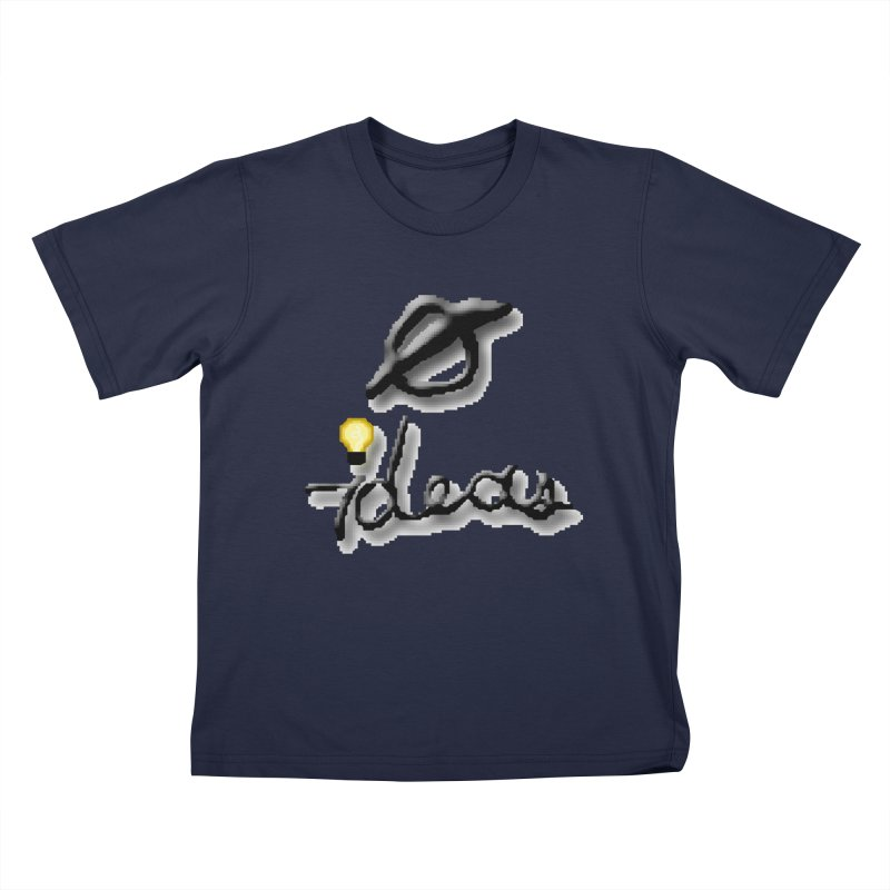 0 Ideas Logo Kids T-Shirt by 0 Ideas Studios