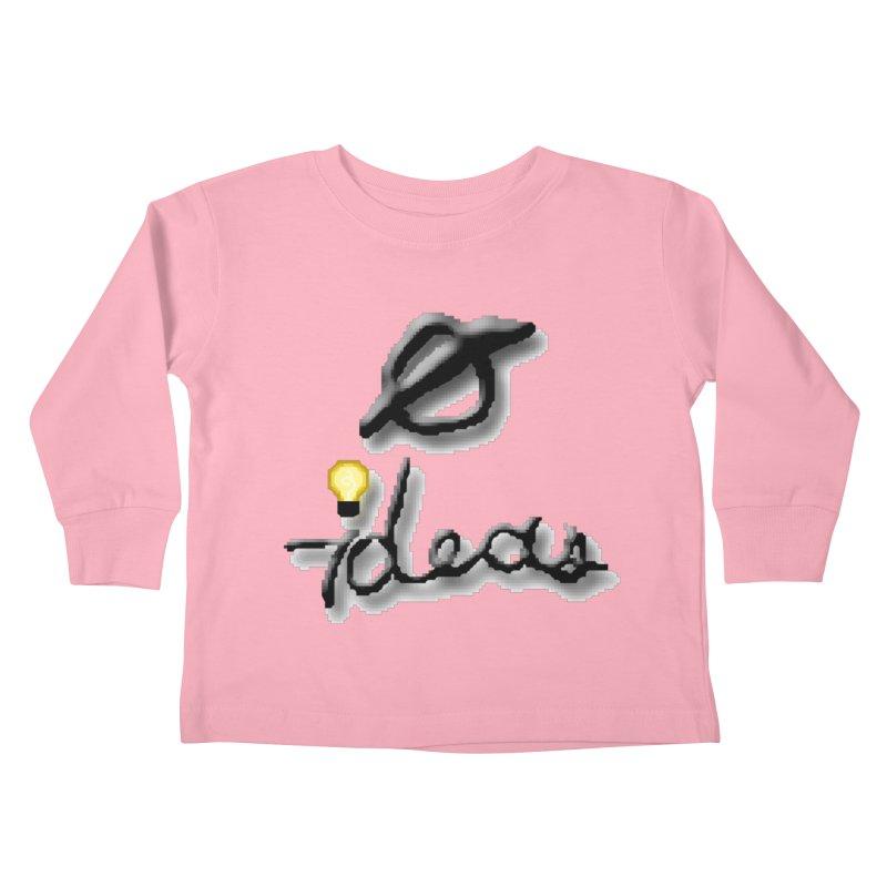 0 Ideas Logo Kids Toddler Longsleeve T-Shirt by 0 Ideas Studios