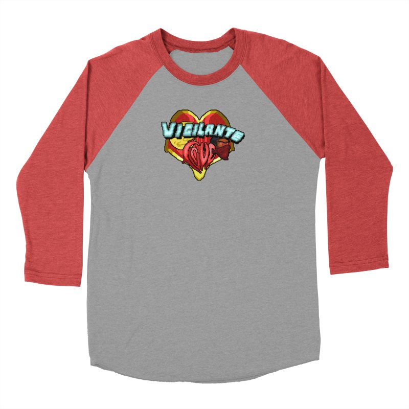 Vigilante Love (pixel variant) Men's Longsleeve T-Shirt by 0 Ideas Studios
