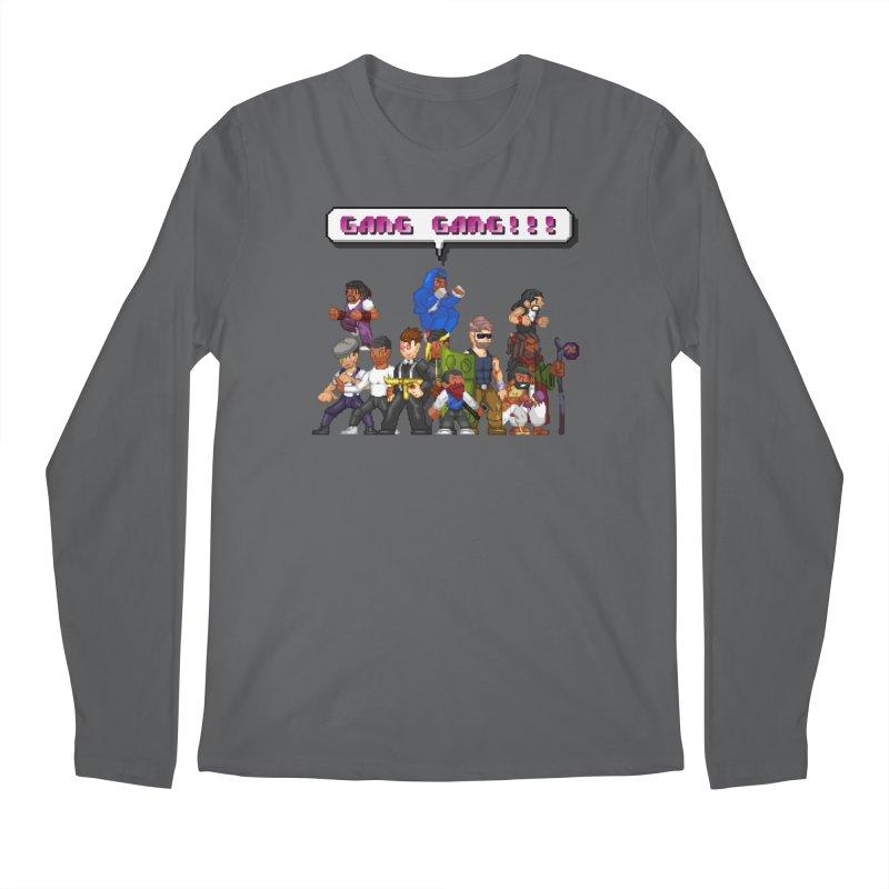 Gang Gang!! Men's Longsleeve T-Shirt by 0 Ideas Studios