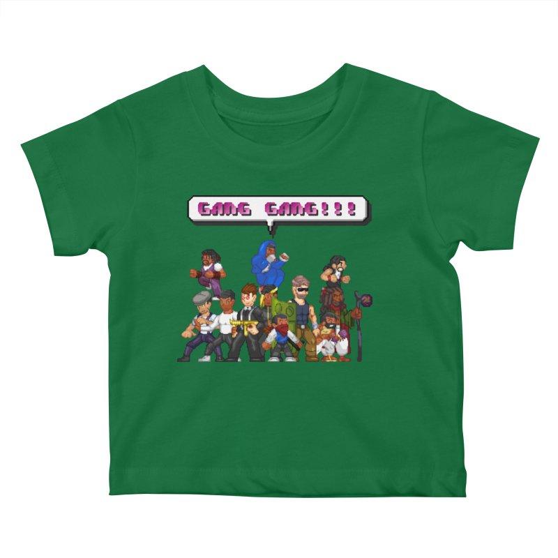 Gang Gang!! Kids Baby T-Shirt by 0 Ideas Studios