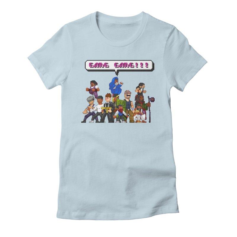 Gang Gang!! Women's T-Shirt by 0 Ideas Studios
