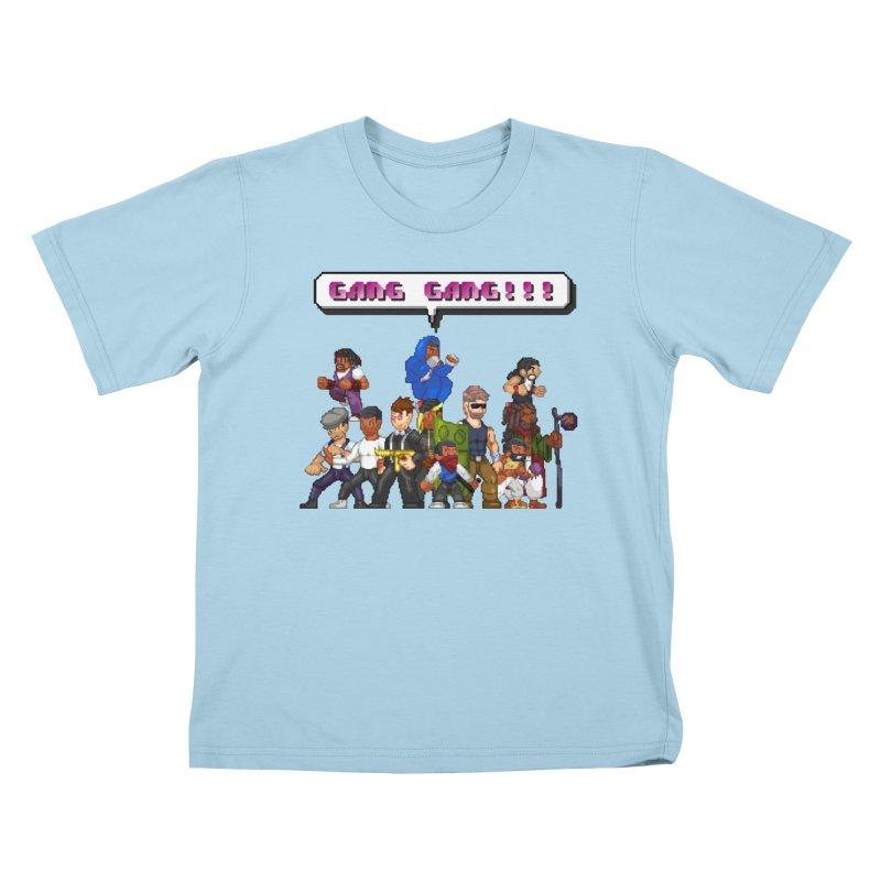 Gang Gang!! Kids T-Shirt by 0 Ideas Studios